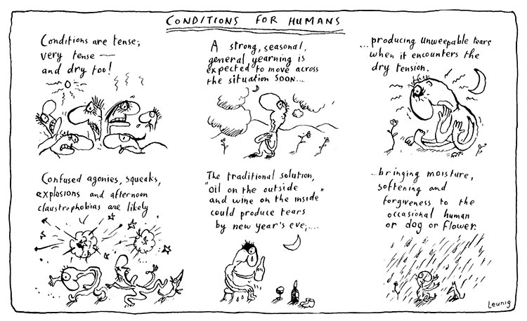 conditions for humans