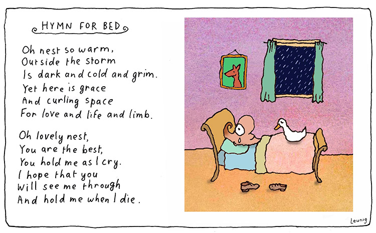 hymn for bed